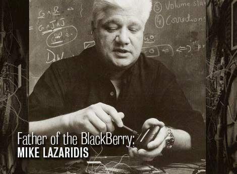 黑莓创始人、前联席CEO麦克·拉扎里迪斯(Mike Lazaridis)