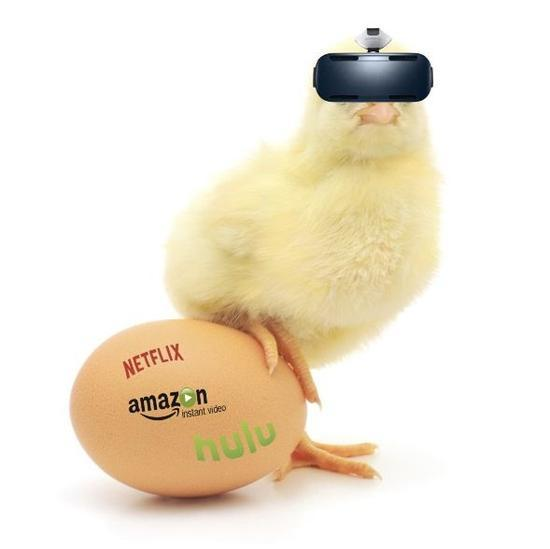 渠道为王还是内容优先:VR界的鸡与蛋悖论