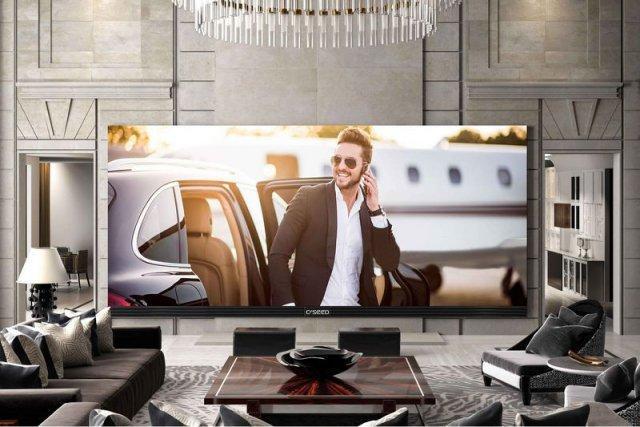 世界最大的电视262寸装一台比整套公寓都贵
