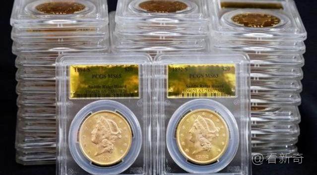 夫妇散步时挖到1500枚金币价值千万