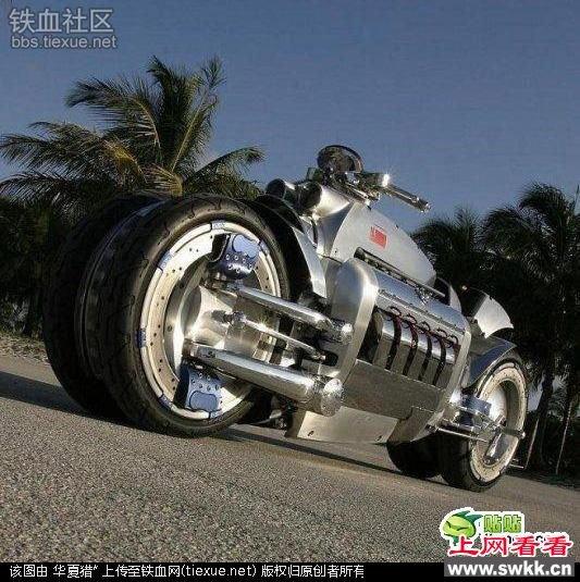 这辆摩托被称为世界上最快的摩托,时速600Km,你敢骑吗?