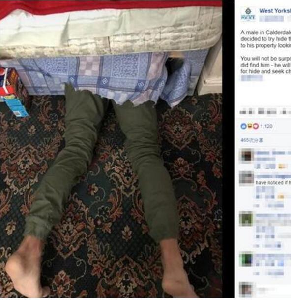 蠢哭了!男子从薯条店偷走4500英镑遭警察追捕,一个动作竟引爆了网络!
