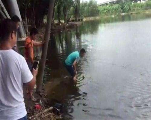 男子河边钓鱼,一天无获,接下来让人欣喜若狂