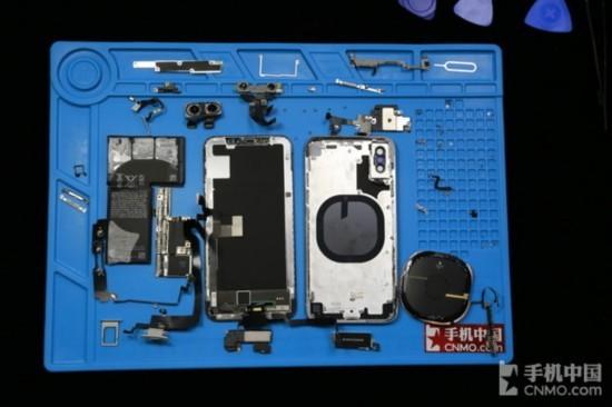 iPhone X拆机全家福