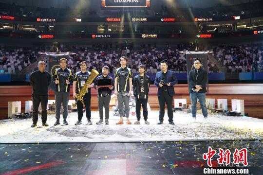 第三届DOTA2亚洲邀请赛收官中国战队憾失冠军
