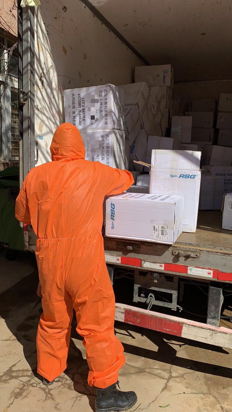 又一批全球采购的医疗物资送到 360驰援火神山、武汉协和插图