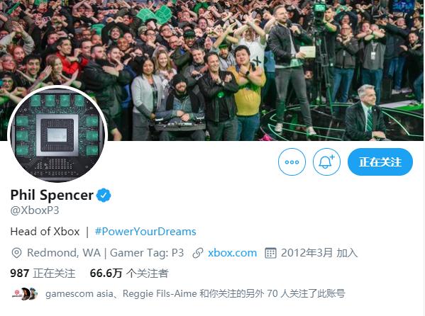 廉价版次世代主机芯片?Xbox主管再度更换个人推特头像