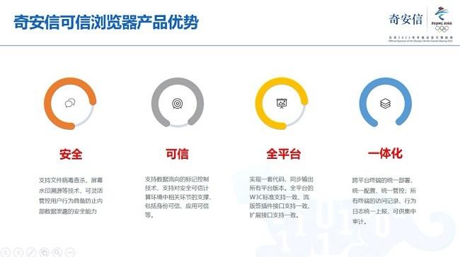 奇安信发布可信浏览器 解决政企业务四大痛点