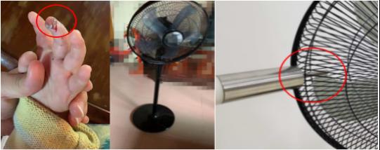 电风扇暗藏伤人隐患 部分产品未考虑对儿童保护插图(2)
