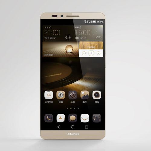华为八核6寸屏手机Mate 7国内开卖 2999元起