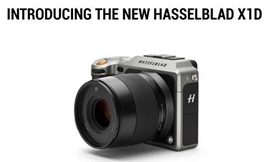 哈苏发布中画幅无反相机X1D