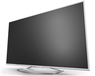 """d9830系列液晶电视则采用""""无边框""""及纤薄机身"""