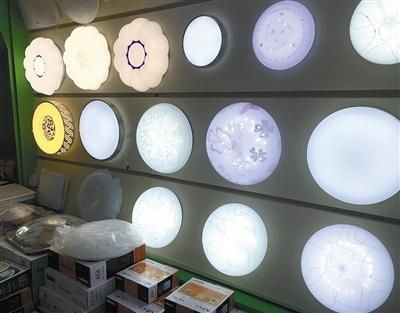 led家用灯市场混乱 灯具杂牌多,价格乱图片