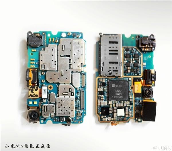 小米5主板电路图|小米5主板内部芯片结构