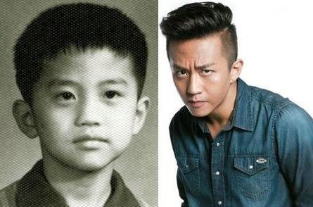 其实那个小孩不是他小时候的照片啦,而是一个和他神似的小孩,太可爱了