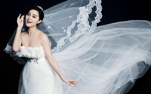 qq头像赵丽颖最漂亮的婚纱照