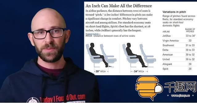 为什么飞机的座位和窗户对不上