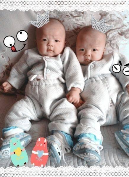 二胎生下一对男双胞胎