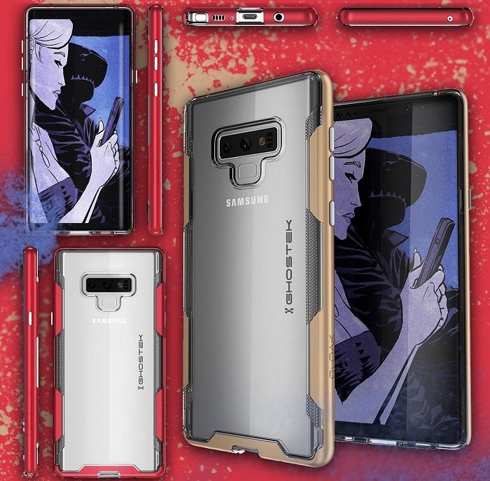 是来自手机壳制造商GhostTek的渲染图