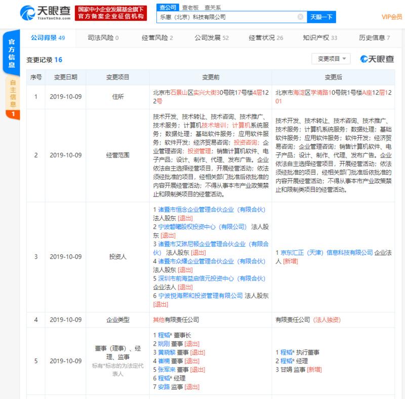 京東數科收購聚合支付平臺樂惠_此前已成功入主哆啦寶