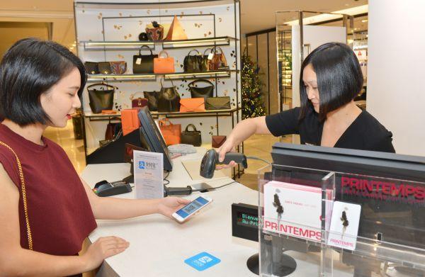法媒感叹:中国手机支付在法国站稳脚跟